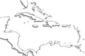 photo relating to Printable Map of the Caribbean referred to as Caribbean Printable Maps